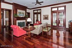 Our living room on Realtor.com