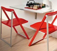 Calligaris Skip folding chair- red