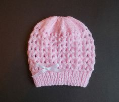 f09729cabc3 36 Best Baby hat knitting pattern images in 2019