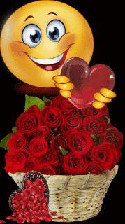 Create your customized emoji I Love You Pictures, Love You Gif, Beautiful Love Pictures, Cute Love Gif, I Love You Baby, Beautiful Gif, Beautiful Roses, Animated Emoticons, Funny Emoticons