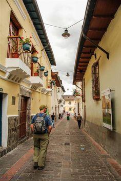 La Ronda Street, Old Town, Quito