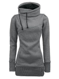 Newchic provides you with all styles of hoodie sweatshirts. Black pullover hoodie, hooded sweatshirts, crew neck sweatshirts, and crop hoodie for women are hot-sale Mobile. Look Fashion, Fashion Outfits, Womens Fashion, 50 Fashion, Ladies Fashion, Curvy Fashion, Fashion Bloggers, Fashion Styles, Fall Fashion