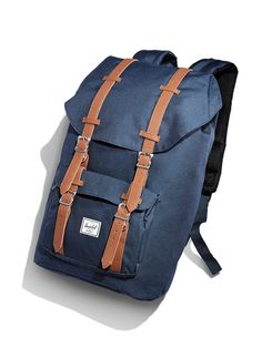 He'll carry his essentials in style with this Herschel Supply Co. backpack.