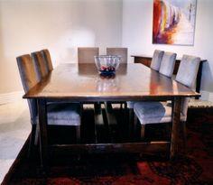Gathering Table - French oak - French polish finish