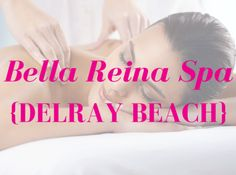 Bella Reina Spa in Delray Beach is where we test all of our products. During our facials, massages, pedicures and med-spa treatments, we use the skin care, makeup and aromatherapy products on 'real' clients. If they don't love them, we don't sell them!