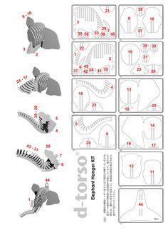 Résultats de recherche d'images pour « D-Torso Cardboard Animals - Horse Cardboard Sculpture, Cardboard Paper, Cardboard Crafts, Paper Toys, Wood Crafts, Diy And Crafts, Paper Crafts, 3d Cuts, 3d Puzzel