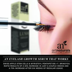 Made with Swiss Apple Stem Cells to prevent breaking, thinning, and helps improve the length of your lashes with immediate results.