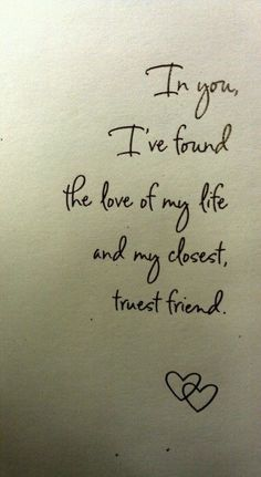 Love & friend