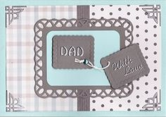 'Dad - With Love' Card