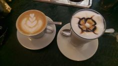 Cappuccino e latte macchiato