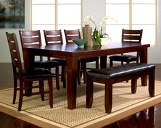 Stylish Cherry Dining Room Chairs furnishings in Home Décor Idea from Cherry Dining Room Chairs Design Ideas. Find ideas about  #cherrydiningroomset #cherrydiningroomsetwithhutch #cherryfinishdiningroomchairs #crescentcherrydiningroomchairs #usedcherrydiningroomsetforsale and more Check more at http://a1-rated.com/cherry-dining-room-chairs/8417