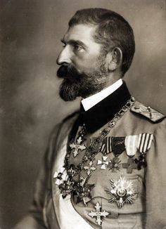 King Ferdinand I of Romania. Queen Mary, King Queen, Colorful Pictures, Old Pictures, Romanian Royal Family, Good Old Times, Long Beards, Portraits, Ferdinand