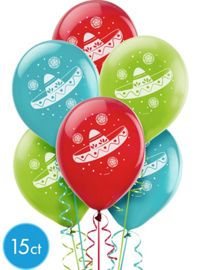 Fiesta Theme Party Balloons - Party City
