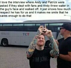 Andy Hurley is awesome!