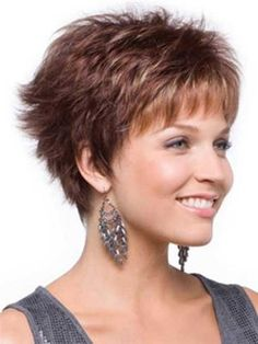 short hairstyles for over 50 with thick hair - Google Search