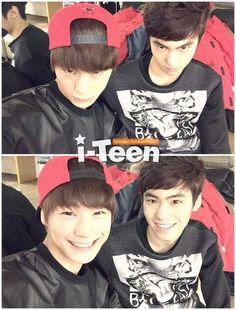 Minhyuk & Moonbin<< 2 biases of Astro!