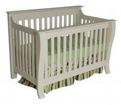 Augusta Convertible Crib shown in Linen