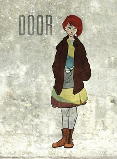 Door from \ Neverwhere. & Illustrating Neil Gaiman\u0027s Neverwhere \u2013 in pictures | Neil gaiman ...