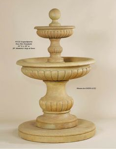 Fountains Product | AcquaSparta Two Tier Fountain - Outdoor Fountains - Fountains ...