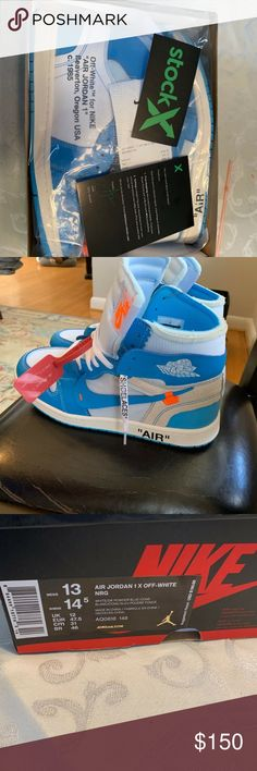 3ecf3b6899e1ab Off-White Nike Air Jordan 1 UNC Brand new and authentic Jordan s for a price
