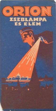 Orion Flashlight and battery ~ József Bottlik