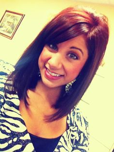 Hair cut & color. LOVE IT!