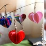 PAPER HEART Tree, I went to this site for one thing and found others like these hanging hearts. Pin this now, then go back to see her other ideas.  Let her knnow if you like her site.