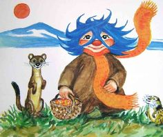 amanda - Låten som bara ploppade upp i mitt huvud imorse. Childhood Characters, Book Characters, Right In The Childhood, Childhood Memories, Troll, Childrens Books, Illustration Art, Illustrations, Pop Art