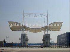 Any shape tensile membrane building,tenslie membrane structure building