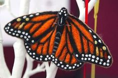 Monarch-Butterfly-Needle-Felting-Craft-Kit-Fully-Guided-Painting-With-Wool