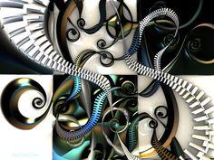 Untitled 3d fractal art Mandelbulb 3d Paul Griffitts www.frackxion.com