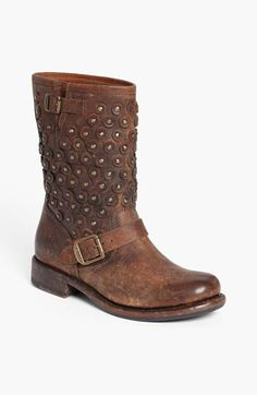 If I could justify $350.00 on boots, these might just be the ones!    Frye 'Jenna Disc' Short Boot available at #Nordstrom