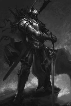 Wild man warrior rocking a lot of heavy metal dark fantasy/villains темная High Fantasy, Dark Fantasy Art, Fantasy Concept Art, Fantasy Kunst, Fantasy Rpg, Fantasy Character Design, Medieval Fantasy, Fantasy Artwork, Dark Art