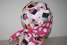 Surgical Scrub Hat  Scrub Cap   Tie Back  by ScrumptiousScrubHatz, $19.99