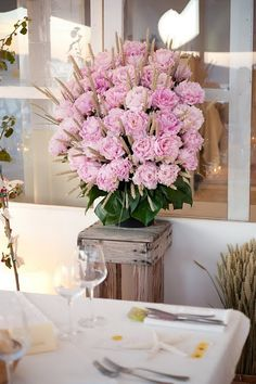 #Peonies and #wheat.  Who would have thought?!