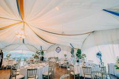 Вдохновение: оформление свадебного шатра