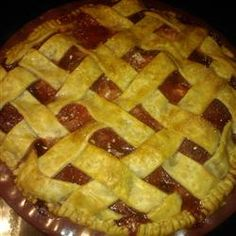 Old Fashioned Strawberry Pie Allrecipes.com  Use 1 cup sugar 1/3 cup flour 1/4 cup cornstarch instead