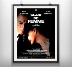 Clair De Femme (Chiaro Di Donna/Die Liebe Einer Frau/Womanlight) 1979 Costa-Gavras  Yves Montand Romy Schneider Romolo Valli Roberto Benigni Lila Kedrova Heinz Bennent  #ClairDeFemme #ChiaroDiDonna #DieLiebeEinerFrau #Womanlight #CostaGavras #YvesMontand #RomySchneider #RobertoBenigni #RomoloValli #LilaKedrova #HeinzBennent #MoviePosters