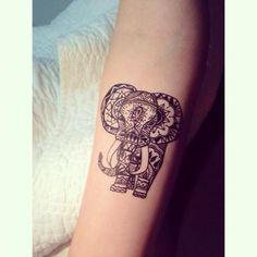 40 Best Bohemian Elephant Tattoo Images Elephant Artwork Tattoo