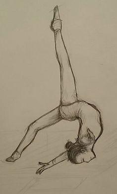 ok but i like drawing gymnasts ok, aber ich mag Turner zeichnen Kunst Ballet Drawings, Dancing Drawings, Dancer Drawing, Drawing Poses, Cute Easy Drawings, Beautiful Drawings, Colorful Drawings, Pencil Art, Pencil Drawings