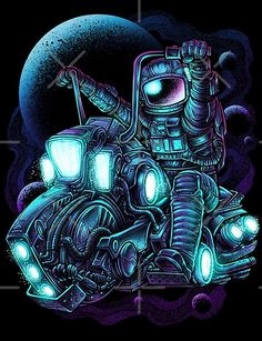 Vintage Design, Printed Shirts, Spiderman, Moto Bike, Superhero, Astronaut, Chopper, Cyberpunk, Spaceship