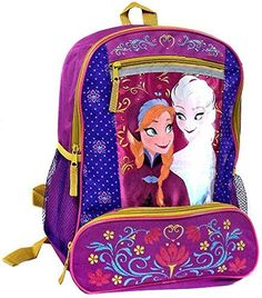 Disney Frozen Elsa and Anna Backpack  Folklore >>> Continue to the product at the image link.