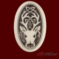 Celtic Clay Touchstones ~ Stag: Protector of Nature...The majestic stag is an important solar animal of the Celts. Its antlers, shed and regenerated the following year, represent the tree of life and are symbolic of spiritual regeneration, abundance, and prosperity. Its antlers are seen as a receptacle for celestial energies. It representing the masculine side of the balance of nature, was the totem animal for the antlered deity Cernunnos, ruler and protector of water, animals and nature.