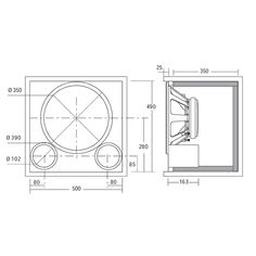 Midrange speaker box design speakers design pinterest 18 inch hi fi speaker google search sciox Images