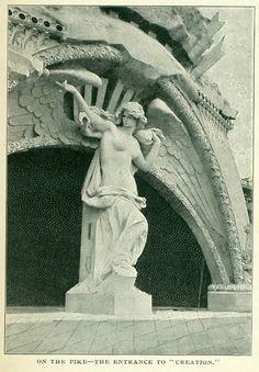Louisiana Purchase, Missouri Botanical Garden, Amusement Park Rides, Fair Games, Victorian Photos, White City, Forest Park, Classical Architecture, World's Fair