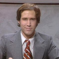 Chevy Chase doing Weekend Update.  But his best was LAND SHARK!