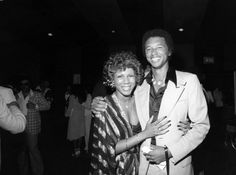 Vintage Black Glamour by Nichelle Gainer — Minnie Riperton and tennis legend Arthur Ashe at. Minnie Riperton, Vintage Black Glamour, Vintage Soul, Arthur Ashe, Tennis Legends, Black Celebrities, Celebs, My Black Is Beautiful, Simply Beautiful