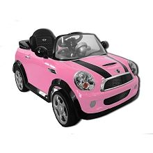 6V Mini Cooper Ride-On - Pink  I'd love to get this for a special little lady I know, but apparently it's not to be.