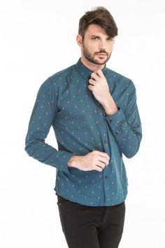 Camisa Fantasía bordada