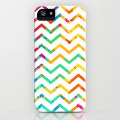 Spark Variations VII Chevron iPhone & iPod Case by Rain Carnival - $35.00 #iphone #samsung #mobile #case #skin #colorful #summer #chevron